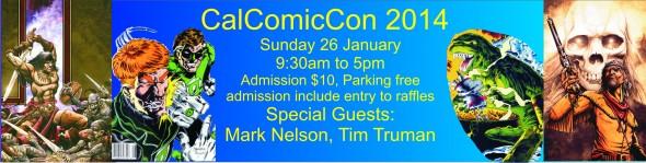 California Comic Convention Banner