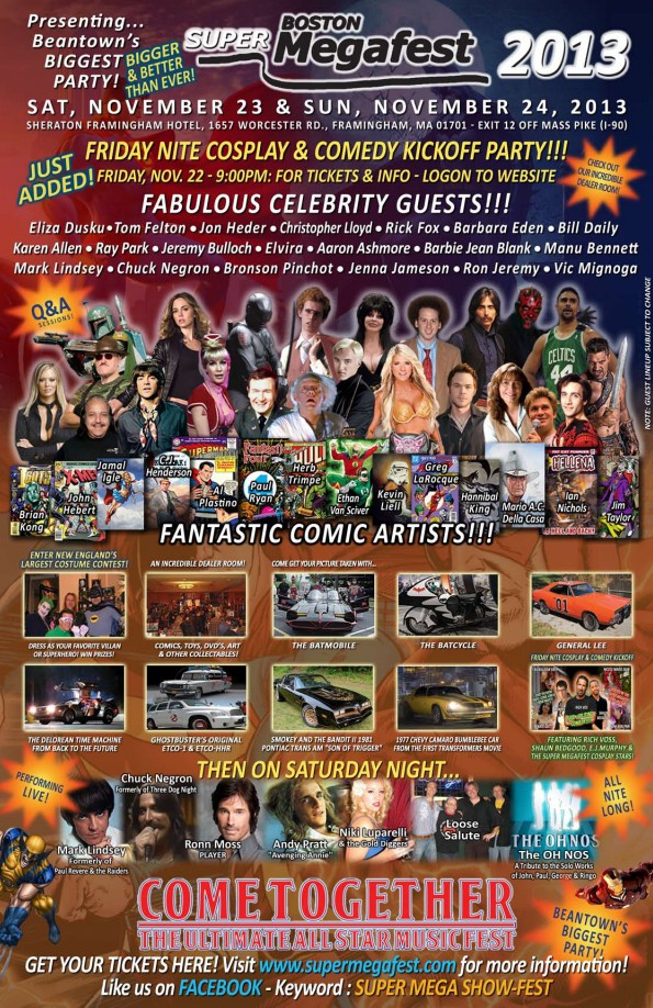 Megafest flyer