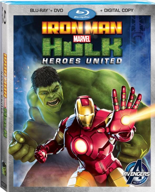 Iron Man Hulk Blu-ray Combo