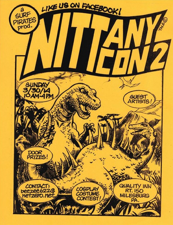 Nittany-Con 2 flyer