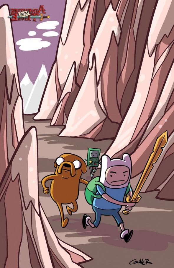 ADVENTURE TIME: THE FLIP SIDE #1 BOOM! Exclusive Variant by Colleen Coover
