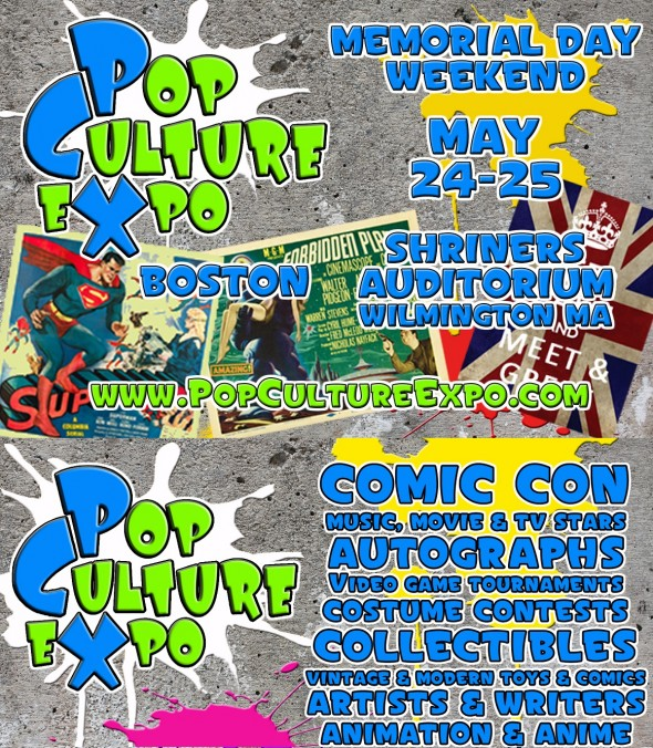 Pop Culture Expo flyer