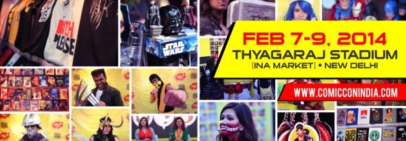 Comic Con India 2014