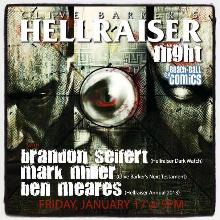 Free Comic Book Day Germany: CA - Hellraiser Night