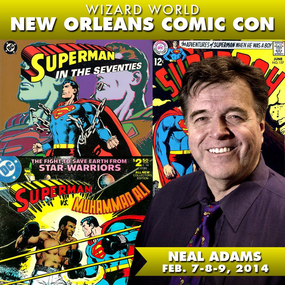 Neal Adams Wizard World New Orleans
