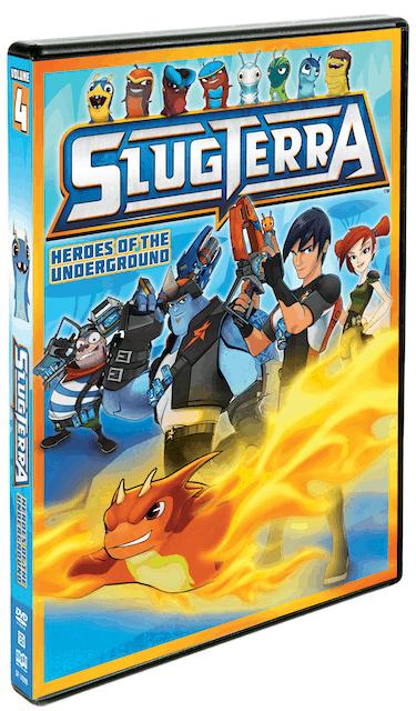 Slugterra DVD