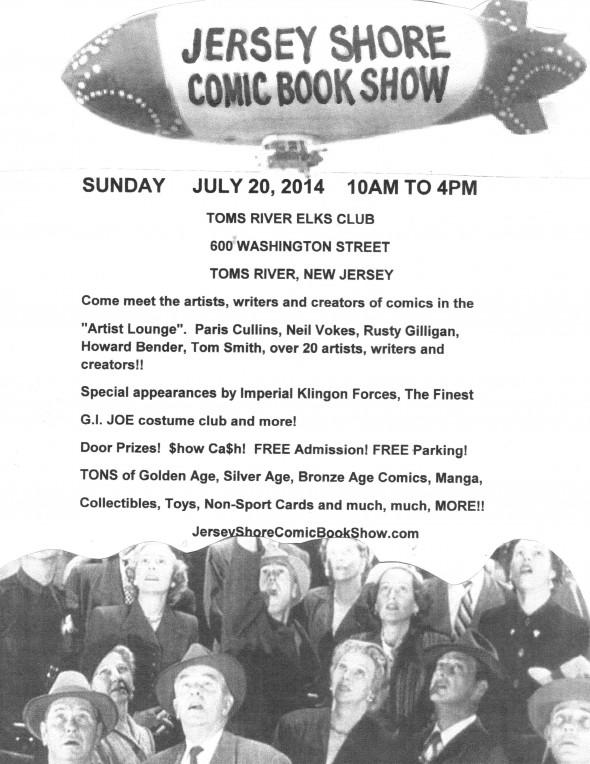 Jersey Shore flyer