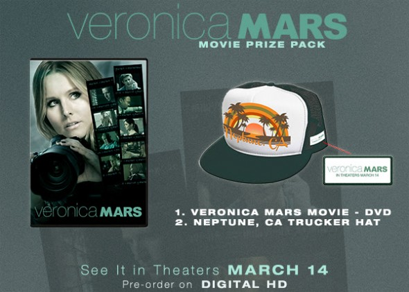 Veronica Mars Movie Prize Pack