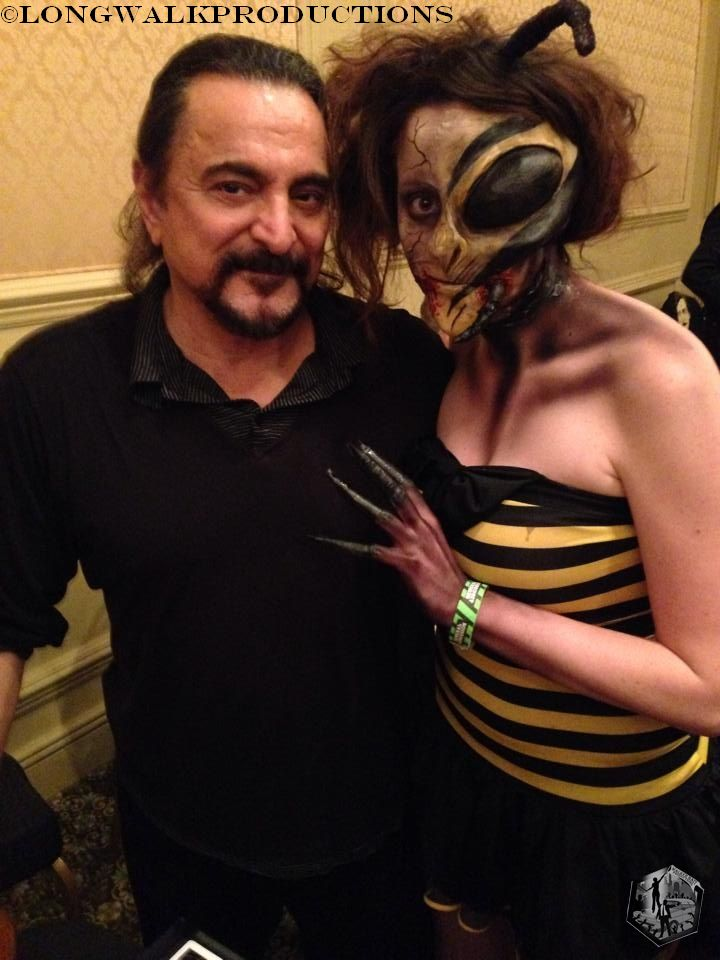 Tom Savini & Katie Bearden. Photo courtesy of Long Walk Productions.