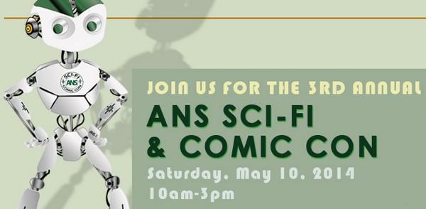 ANS Sci-Fi & Comic Con