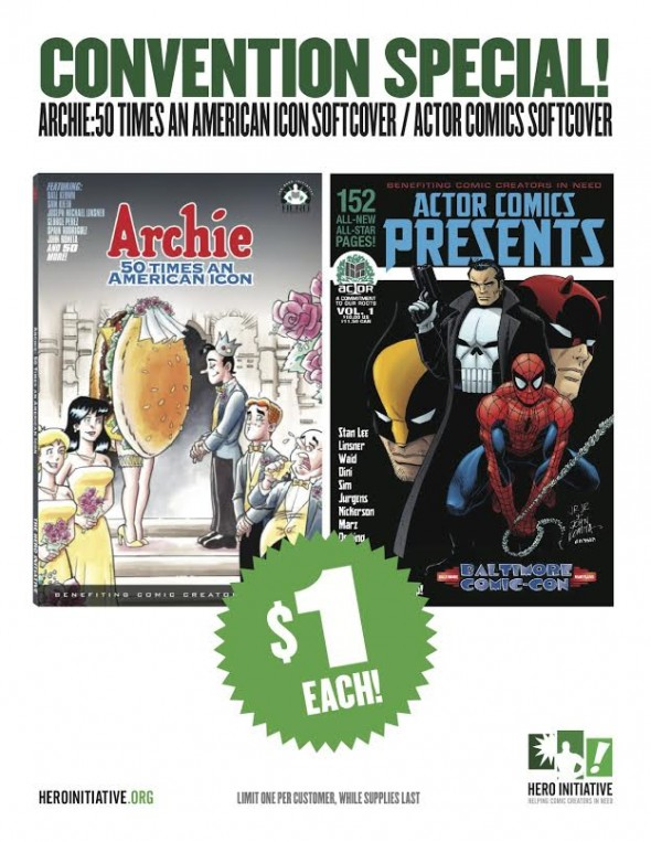 Hero Initiative Convention Specials