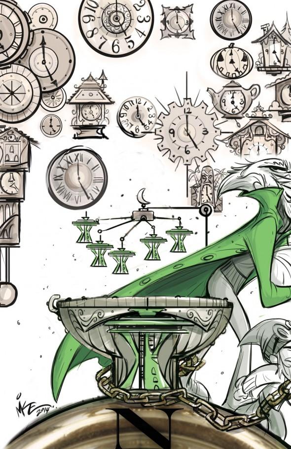 HEROBEAR AND THE KID: SAVING TIME #1 by Mike Kunkel