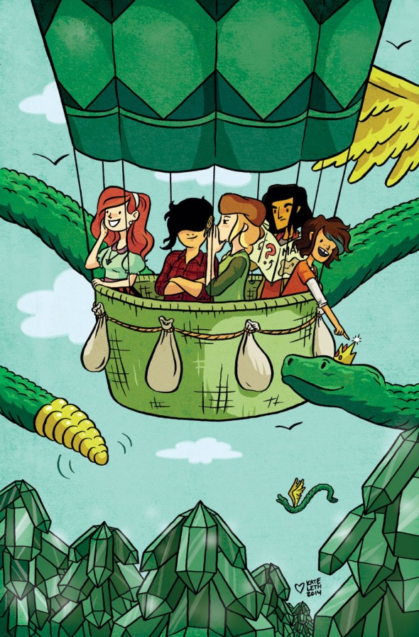 LUMBERJANES #1 by Kate Leth