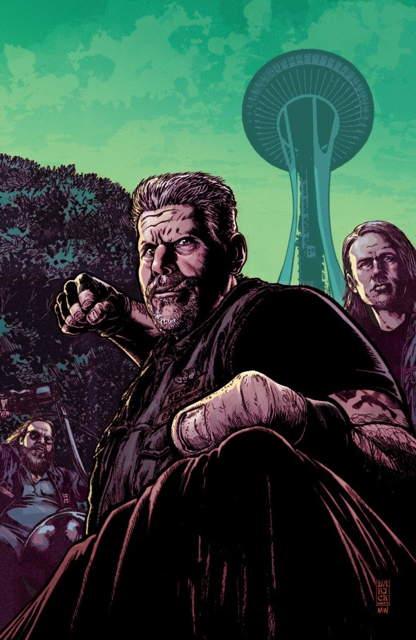 SONS OF ANARCHY #7 by Darick Robertson