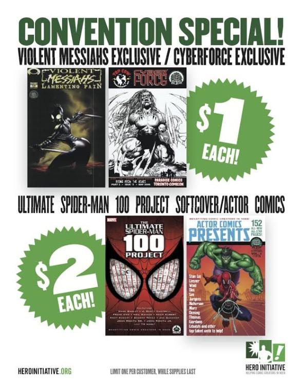 Hero Initiative Calgary Specials
