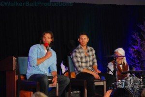 Jared Padalecki and Jensen Ackles at DCcon.