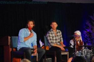 Jared Padalecki and Jensen Ackles at DCcon.