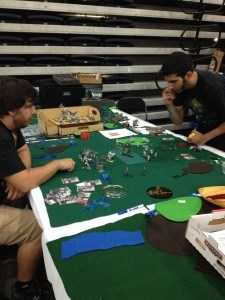 Table Top Gaming Table at XCON 2014