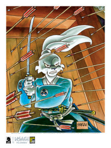 Usagi Yojimbo Exclusive Lithograph