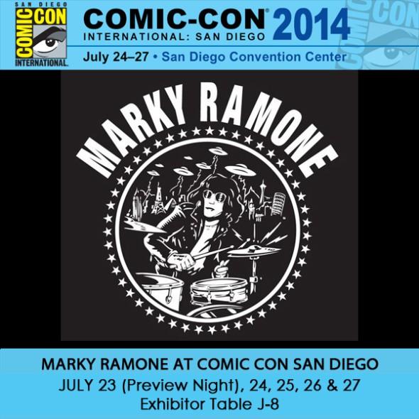 Marky Ramone SDCC