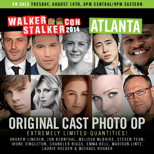 Walker Stalker Photo op