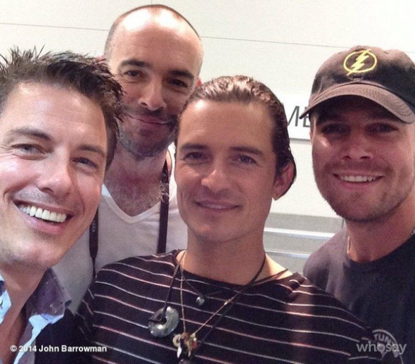 Barrowman Amell Bloom SDCC