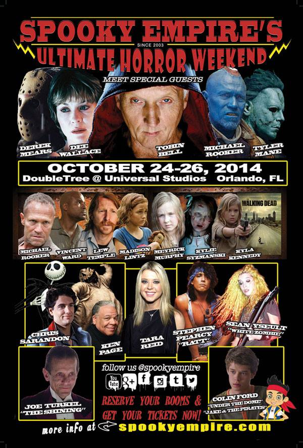 Ultimate Horror Weekend 2014