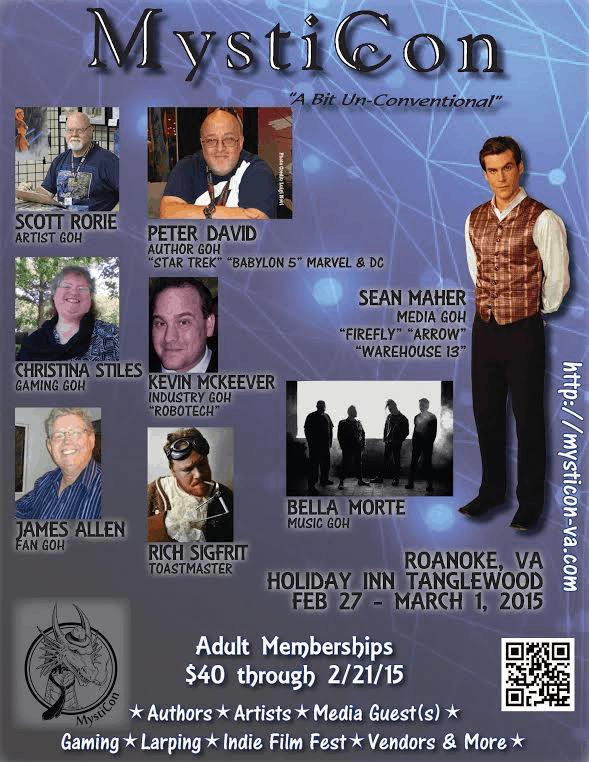 MystiCon 2015 flyer