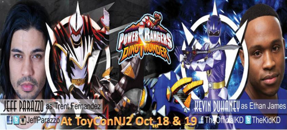 ToyConNJ Power Rangers