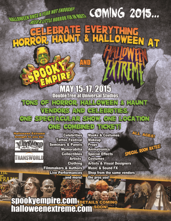 Spooky Empire and Halloween Extreme