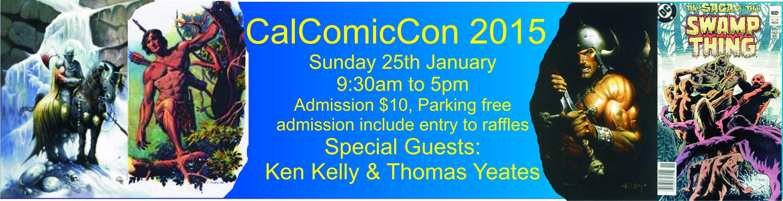 CalComicCon 2015