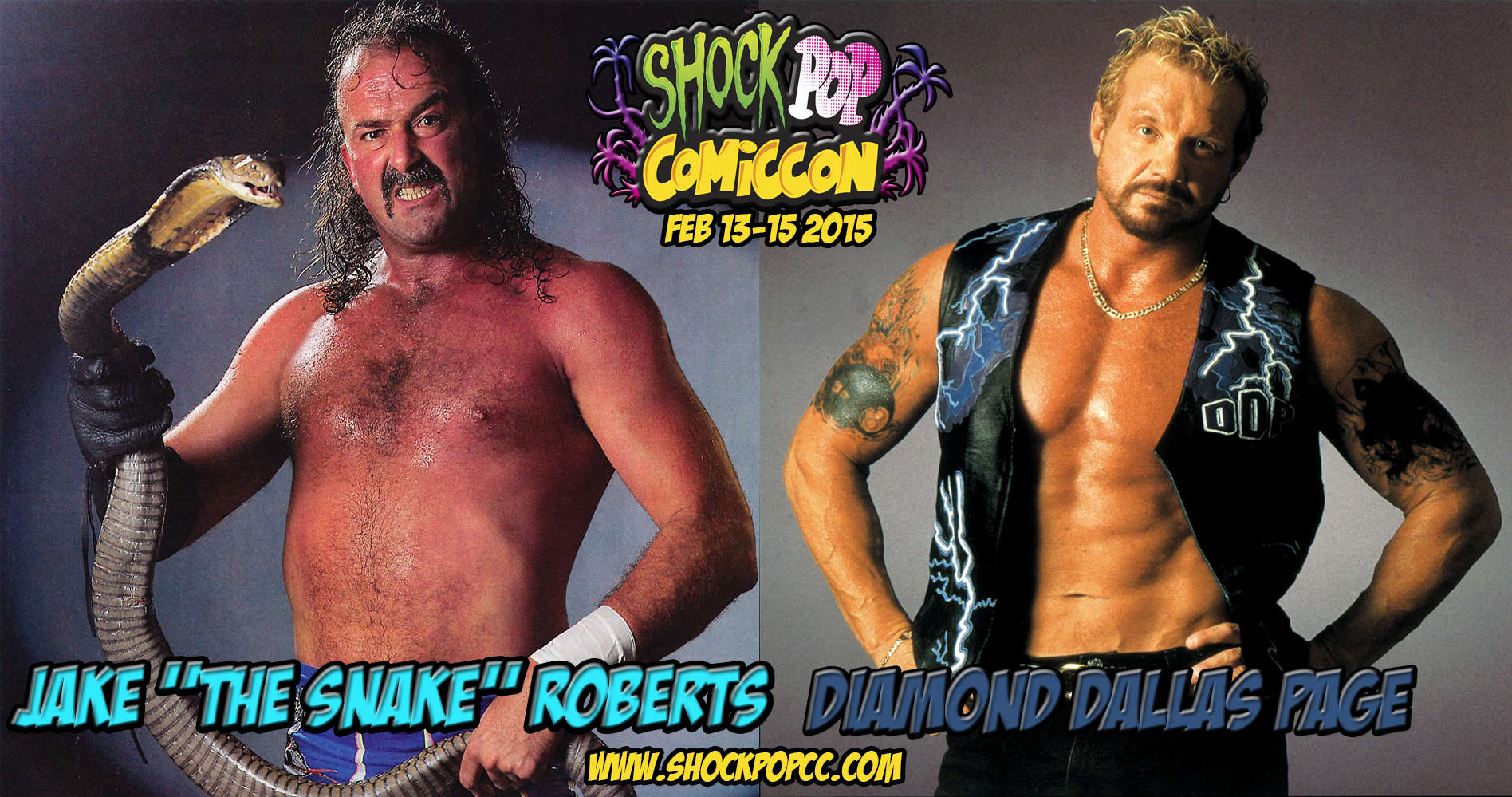 Jake the Snake and DDP
