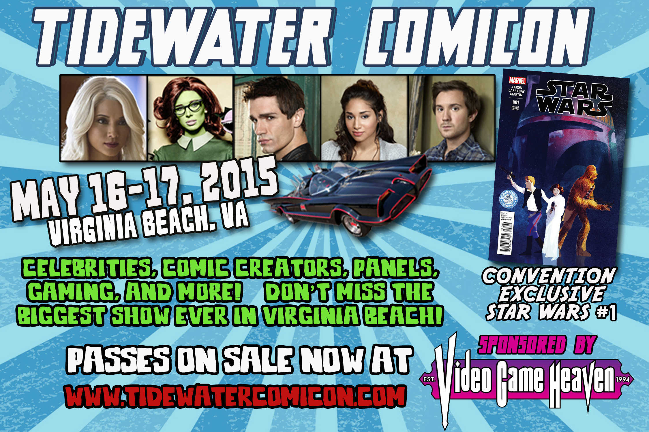Tidewater Comicon Flyer