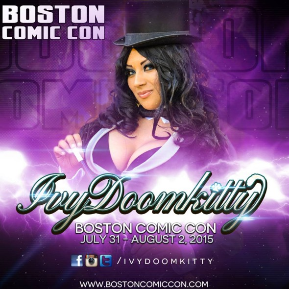Free Comic Book Day Boston: Ivy Doomkitty Appears At Boston Comic Con 2015
