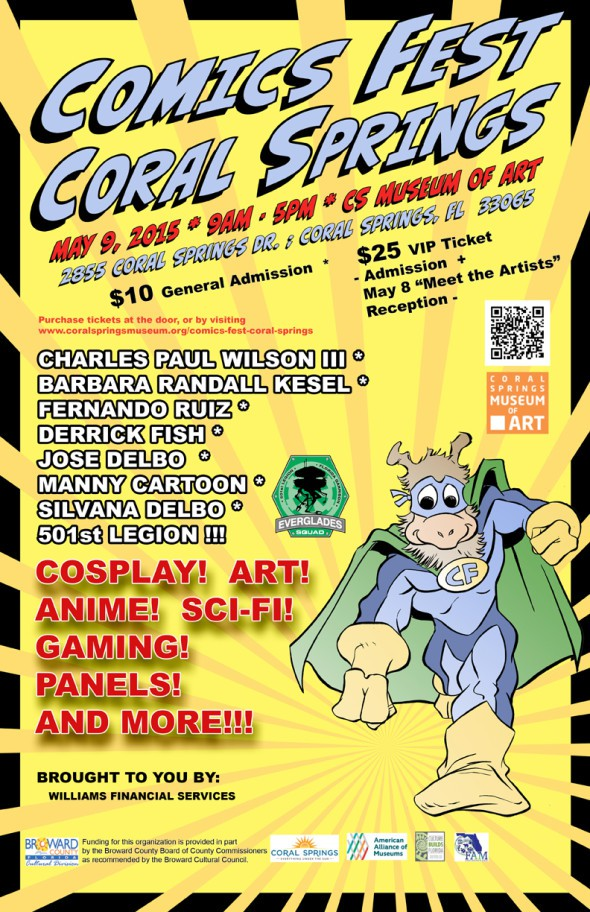 Comic Fest Coral Springs 2015