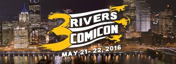 3 Rivers Comicon logo