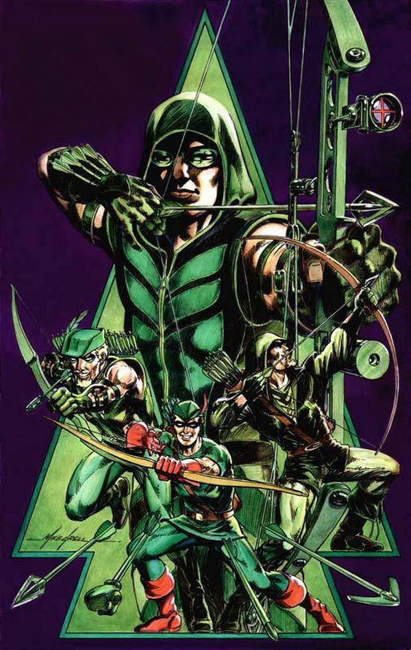 Mike Grell Green Arrow