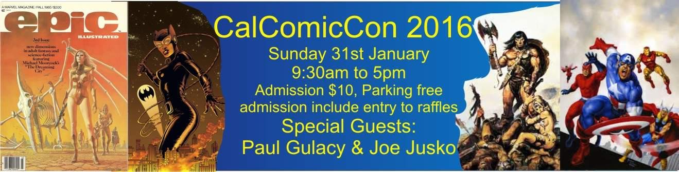 CalComicCon Logo