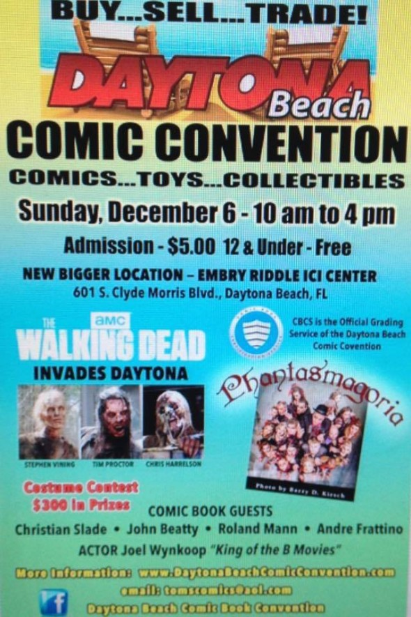Daytona Comic Con 2015
