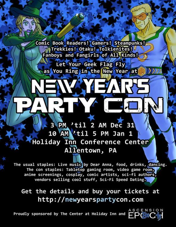 PartyCon Flyer