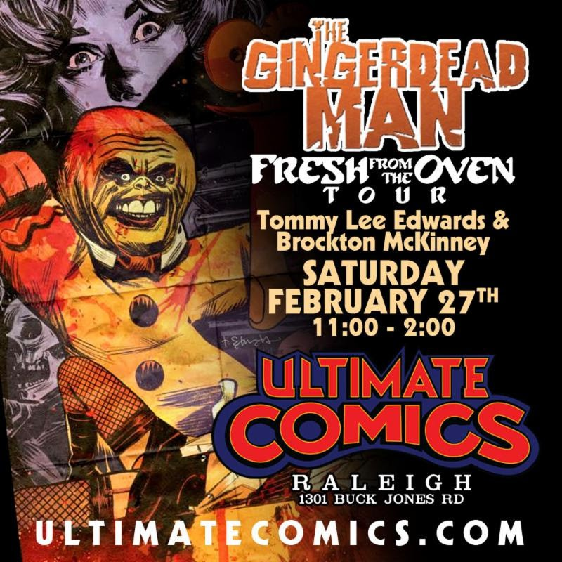 Free Comic Book Day Germany: NC - The Gingerdead Man #1 Signing