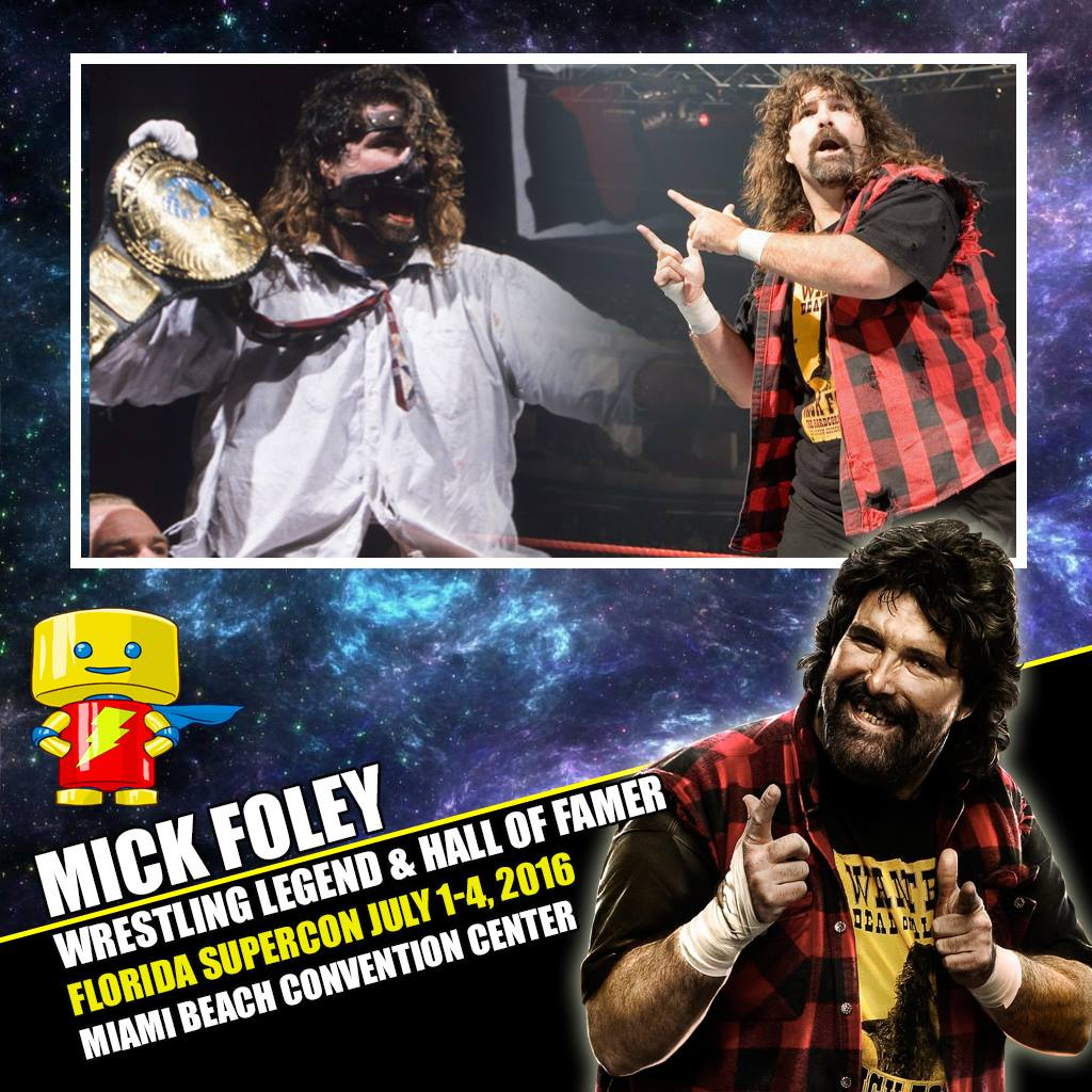 Florida SuperCon adds two wrestling legends | Convention Scene