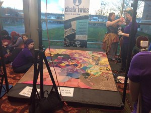 Every year, The Chalk Twins have something new for the silent auction.