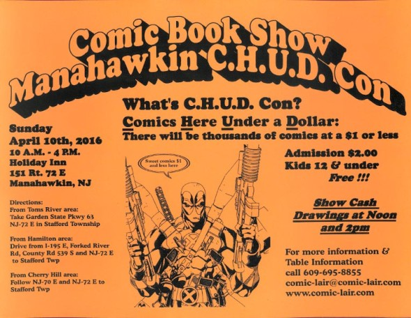 Manahawkin C.H.U.D. Con