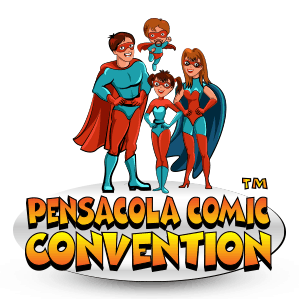 Pensacola Comic Convention™ (Pensacola Comic Con™) Logo