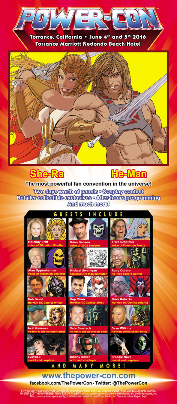 Power-Con 2016 flyer