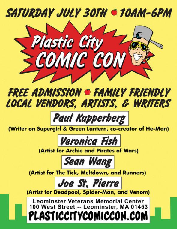 Plastic City July 2016 Flyer