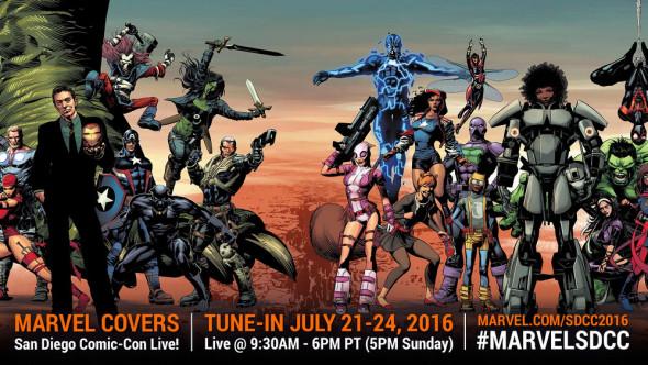 Marvel Live SDCC 2016