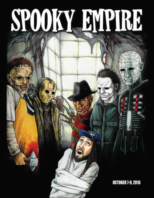 Spooky Empire Program Cover 2016