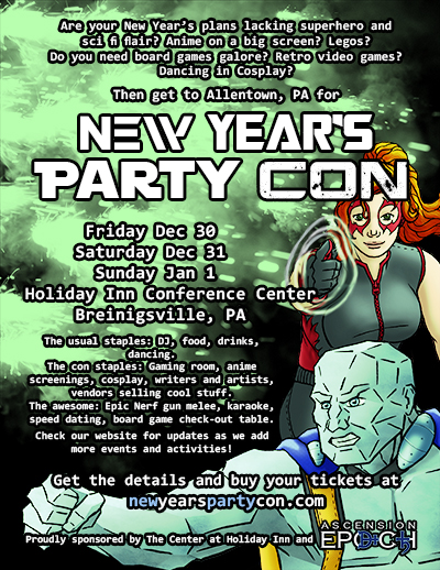 PartyCon 2017 Flyer